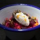Beetroot risotto with orange