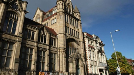 Manchester museum exterior