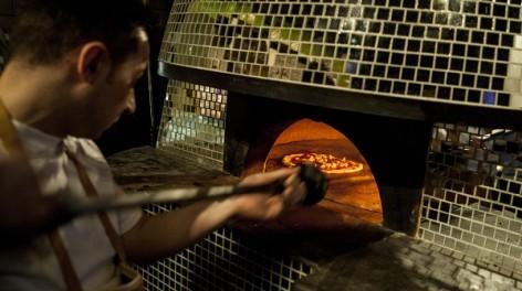 The disco pizza oven