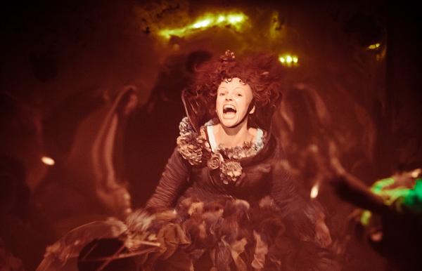 Photo of Maxine Peake in an elaborate dress