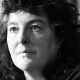 Black and white headshot of Carol Ann Duffy