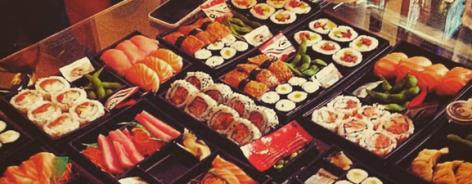 Photo of boxes of sushi