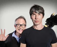 Programme Name: The Infinite Monkey Cage - TX: 19/01/2015 - Episode: n/a (No. n/a) - Picture Shows: (L-R) Robin Ince, Professor Brian Cox - (C) BBC - Photographer: Richard Ansett