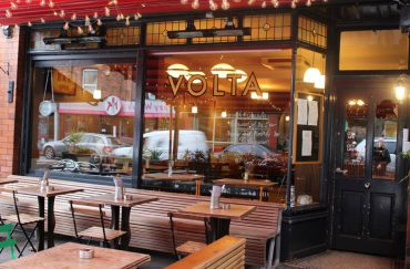 The front of Didsbury restaurant Volta.