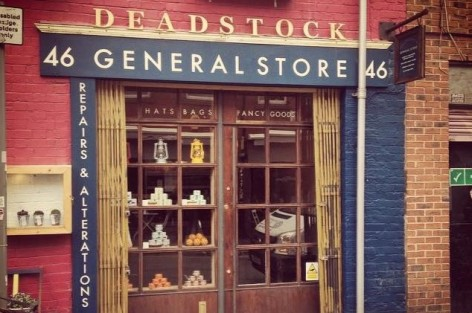 The front of Deadstock General Store.