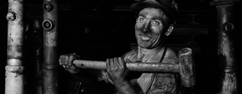 The Miner by Harold White