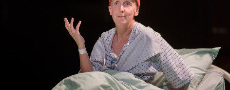 Julie Hesmondhalgh as Vivian Bearing in Wit