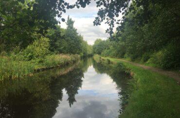 Shot down Huddersfield Narrow Canal