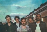 Photo of the band members in Foals