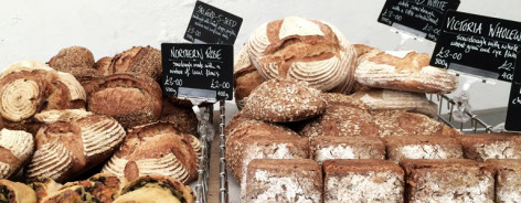 A selection of loaves for sale