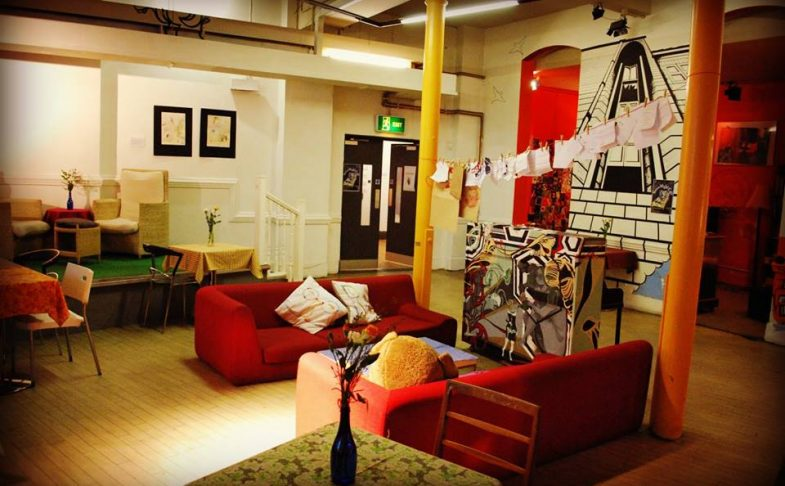 Inside Nexus Art Cafe