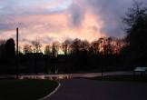 Alexandra Park at dusk