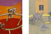 Two Francis Bacon paintings