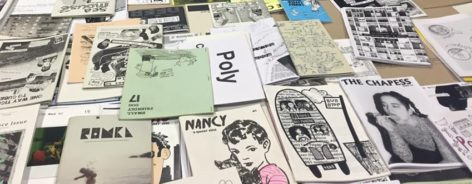 Table of zines
