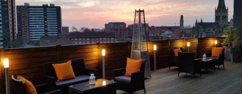 Ainscow Hotel rooftop bar