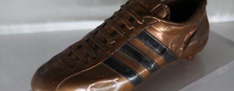 Geoff Hurst's bronzed boot