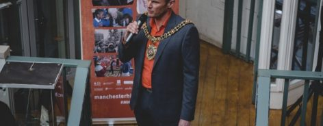 Carl Austin-Behan, Lord Mayor of Manchester