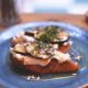 Figs on toast at Pot Kettle Black