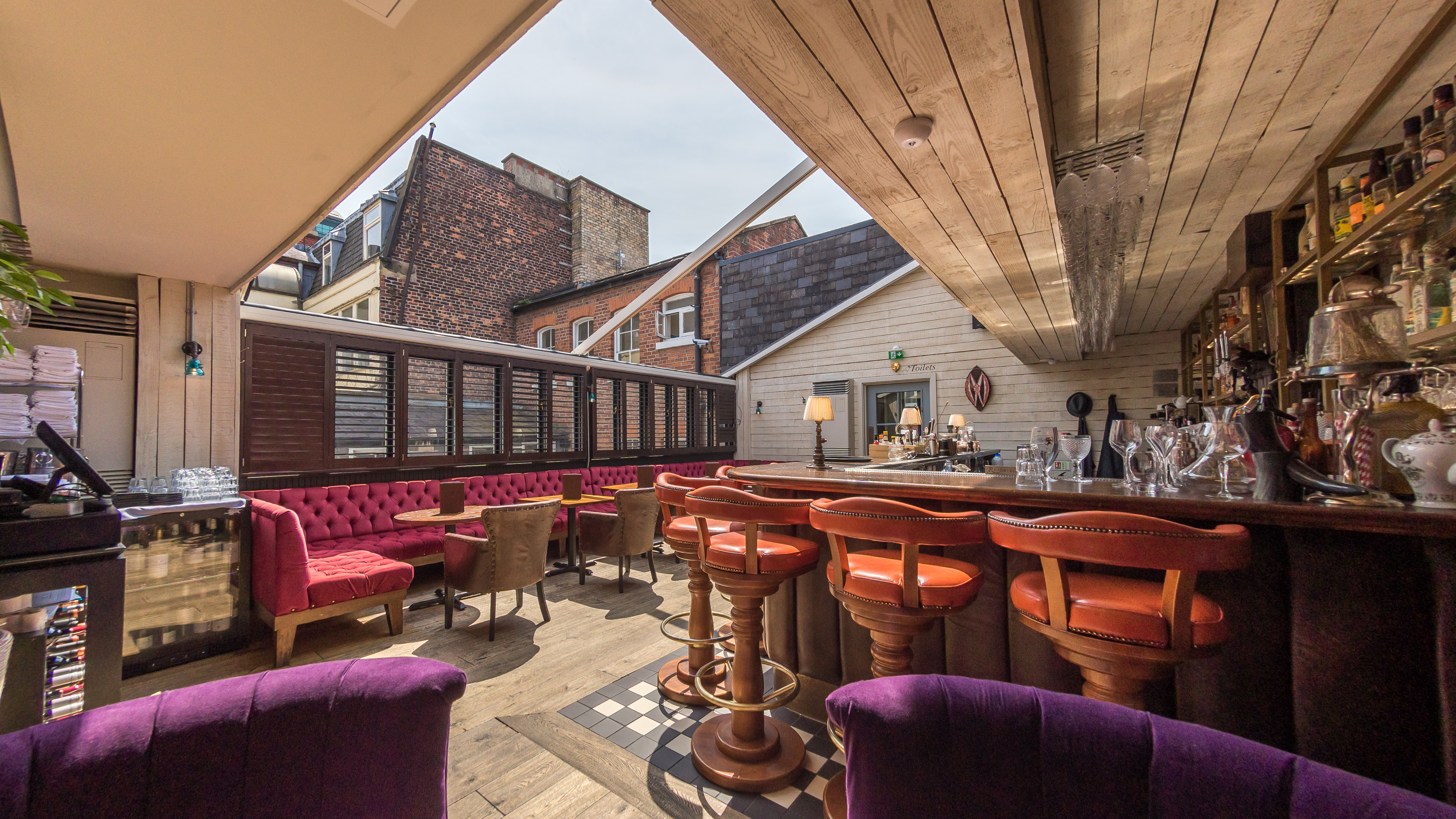 Roof terraces in manchester creative tourist