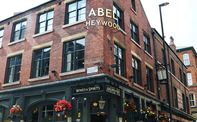 Image of Abel Heywood in Manchester's Northern Quarter