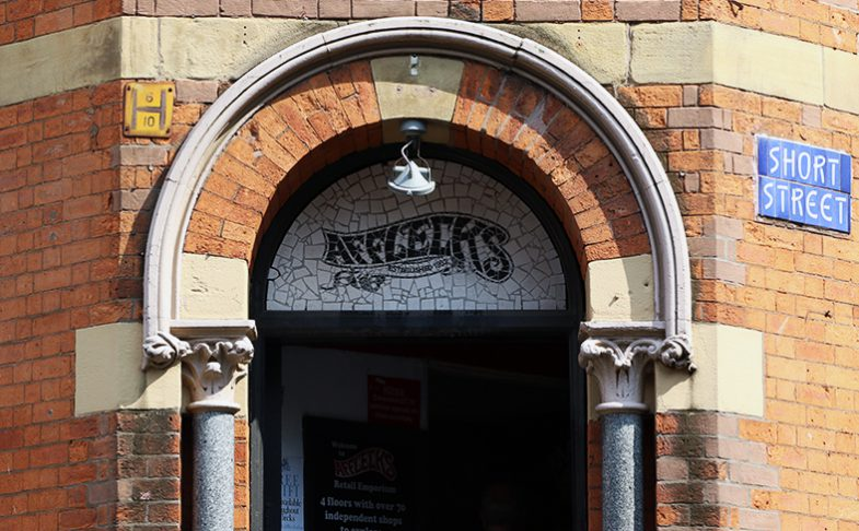 Image of Afflecks Palace in Manchester's Northern Quarter