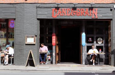 Cane and Grain bar in Manchester's Northern Quarter.