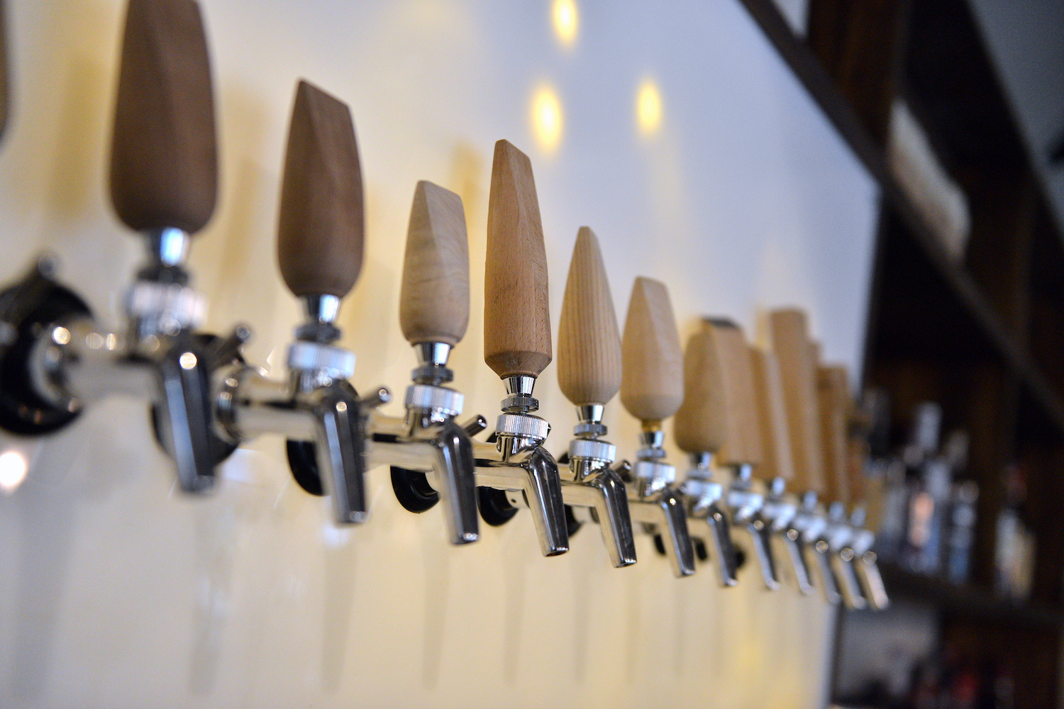 Photo of tap handles