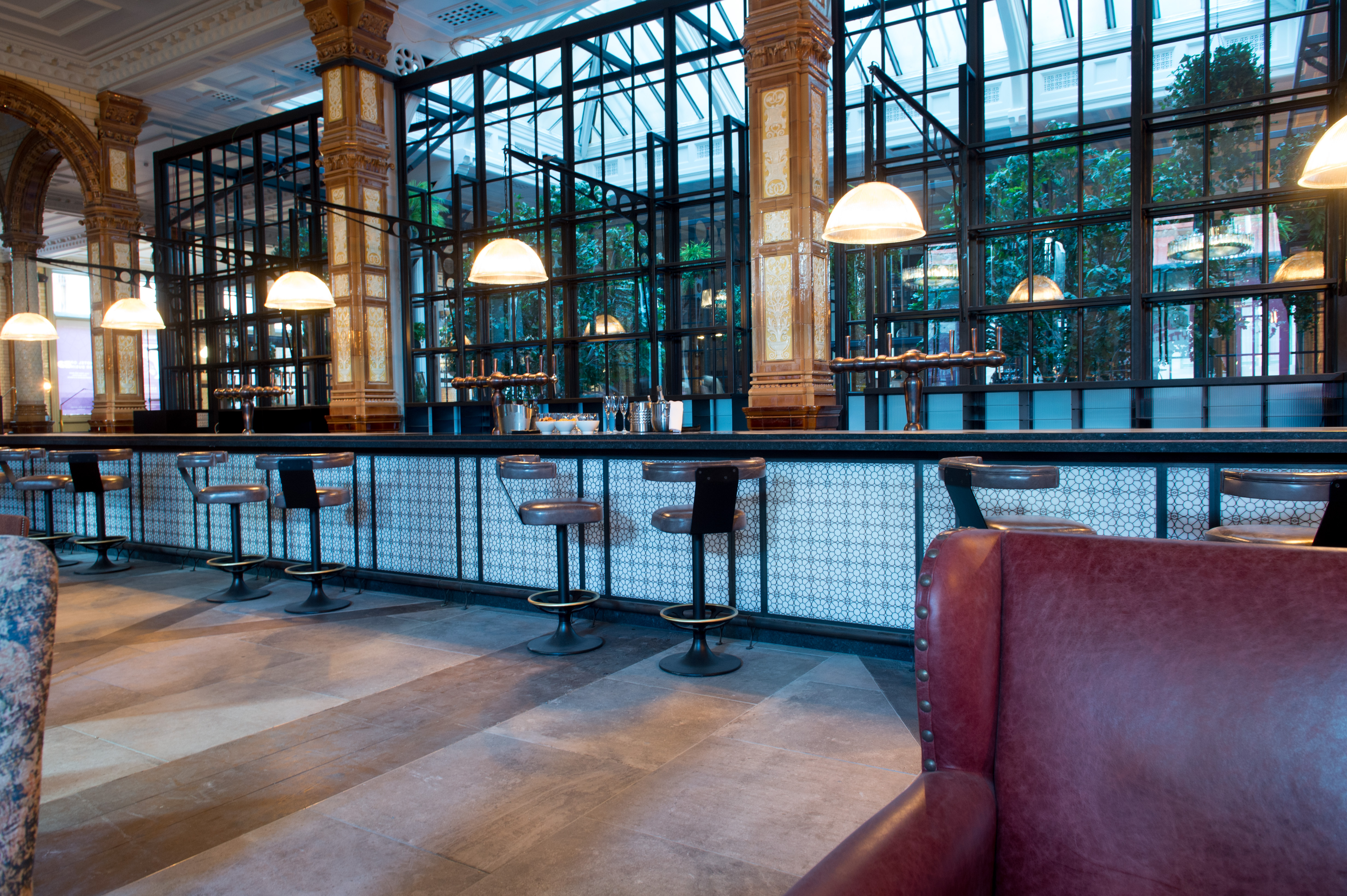 The Refuge Restaurant At Palace Hotel Manchester
