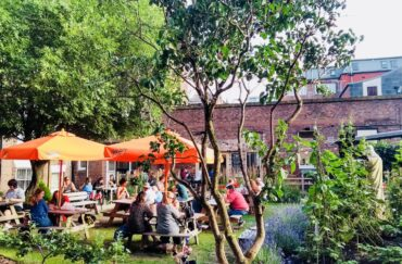 The garden at Free State Kitchen