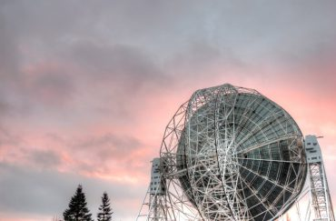 Jodrell Bank Discovery Centre Copyright Geoff Wynne and licensed for reuse. Venue for Girls Night Out moon special.