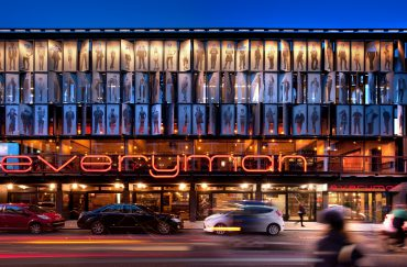 The exterior of Liverpool Everyman. Theatres in Liverpool