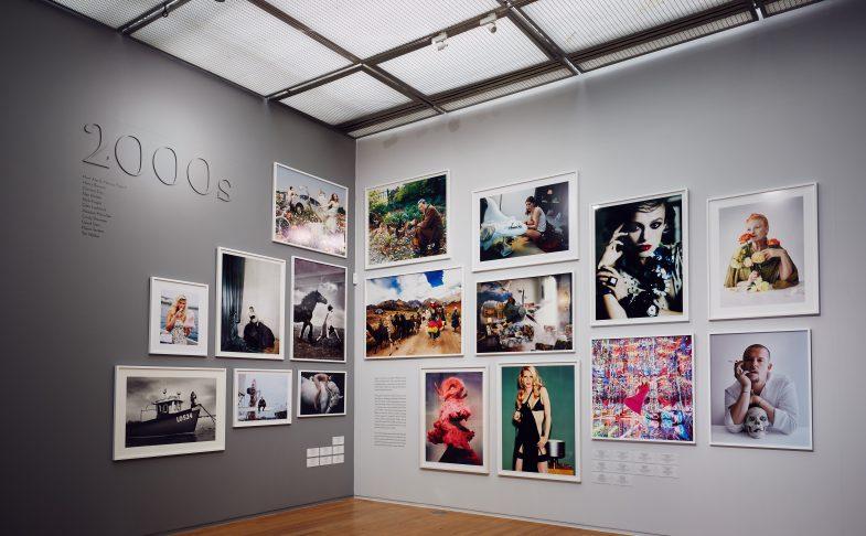 Installation view of Vogue 100