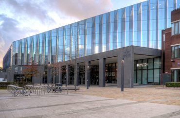 Manchester Metropolitan University Business School All Saints campus in Manchester.