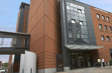 Manchester Metropolitan University Geoffrey Manton Building on Oxford Road Manchester