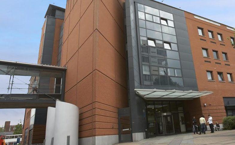 Manchester Metropolitan University Geoffrey Manton Building on Oxford Road Manchester