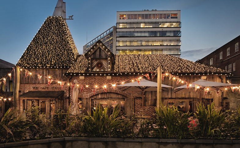 The Oast House pub in Spinningfields Manchester.