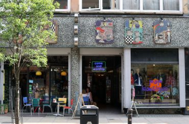 Image of Pop Boutique's shop front on Oldham Street in Manchester