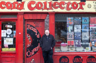 Record Collector - image Gemma Thorpe, courtesy of Our Favourite Places