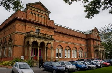 Salford Museum and Art Gallery in the crescent Salford