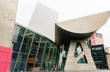 The Lowery Theatre and Gallery in Salford Quays Manchester.