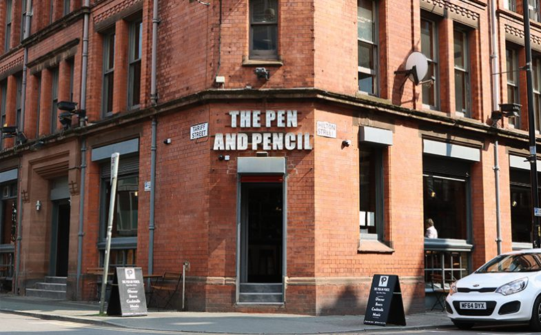 Image of The Pen And Pencil in Manchester's Northern Quarter