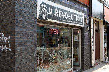 Image of outside of V Revolution Manchester