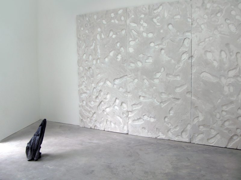 Installation view of Asimakopoulos' work