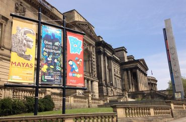 Exterior of World Museum Liverpool, home to Dino Ranger Day