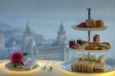 Afternoon tea in Liverpool
