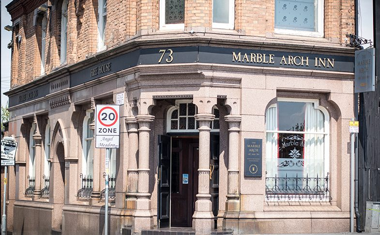 Marble Arch Pub - Creative Tourist