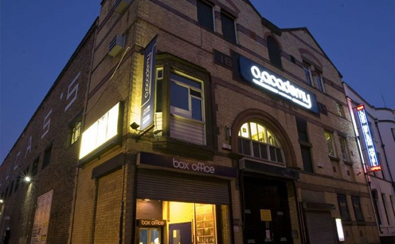 O2 Academy music venue in Liverpool.