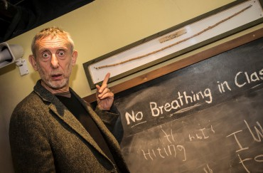Michael Rosen - Image courtesy of Z-Arts