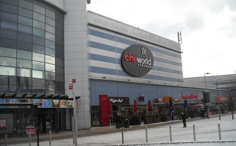 Cineworld ententertainment center Parrs Wood Didsbury