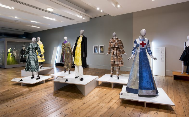 Designs by Emilia Wickstead, Holly Fulton and Sadie Williams